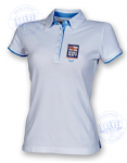 Women's 2colour superior fitted polo- RN LOGO